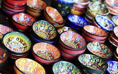 pretty colors and bowls