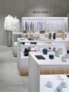 Nendo designs Backyard by   n retail space for Seibu Sogo department store in Japan   urdesign magazine
