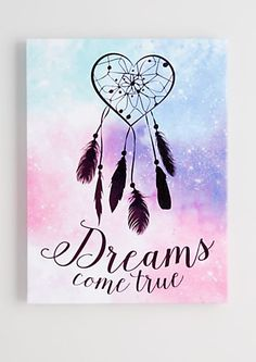 Dreams Come True Stretched Canvas | rue21
