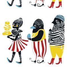 Marimekko fabrics - Buy online from Finnish Design Shop. Discover Unikko and other Marimekko fabrics for a modern home! Textures Patterns, Print Patterns, Blue Fabric, Cotton Fabric, Marimekko Fabric, Marimekko Wallpaper, Scandinavia Design, Empire, Tejidos
