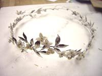 DIY instructions to make Lucy's crown from The Lion The Witch & The Wardrobe (at this link: http://www.thelionscall.com/crafts/queen-lucys-crown/) .... for baby girl...