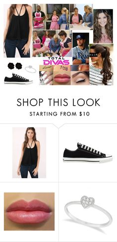 """Total Divas: What's Cookin?"" by samanthanicole39 ❤ liked on Polyvore featuring Tobi, Converse, Allurez and Fornash"