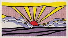 Sunrise by Roy Lichtenstein on Vimeo Fosterginger.Pinterest.ComMore Pins Like This One At FOSTERGINGER @ PINTEREST No Pin Limitsでこのようなピンがいっぱいになるピンの限界