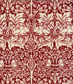 Brother Rabbit by William Morris. Reproduction by Scalamandre.