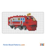 Wilson from Chuggington perler bead patterns web 26dbe
