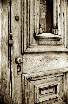 Wooden Door Photography Rustic Home Decor Fine Art Photography Sepia print 8x10 Farmhouse Chic FREE US shipping
