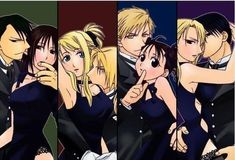 Ling Yao x Lan Fan Edward Elric x Winry Rockbell Alphonse Elric (looking especially debonair) x May Chang Roy Mustang x Riza Hawkeye I'll really like to see an Olivier Armstrong x ………(someone) Fullmetal Alchemist Brotherhood, Fullmetal Alchemist Mustang, Fullmetal Alchemist Alphonse, Fullmetal Alchemist Cosplay, Alphonse Elric, Full Metal Alchemist Manga, Der Alchemist, Roy Mustang, Me Me Me Anime