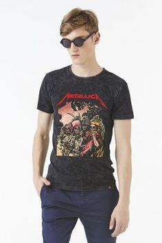 ELEVENPARIS X METALLICA - METORS T-SHIRT