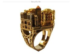 Philippe Tournaire ring  Eiffel Tower