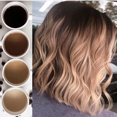 The Countdown continues 🤩 Another Coffee fav. This one came in at Number 4 th… The Countdown continues 🤩 Another Coffee fav. This one came in at Number 4 this year for top photos, this photo is one of my personal… Dyed Hair Ombre, Brown Ombre Hair, Ombre Hair Color, Hair Color Balayage, Brown Hair Colors, Blonde Balayage, Sombre Hair Brunette, Hair Highlights, Blue Hair
