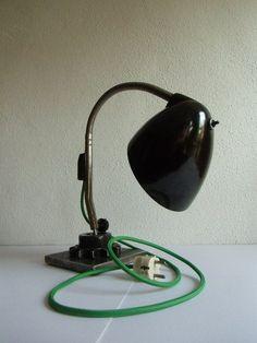 Vintage Tischlampen - Arbeitslampe - Industrieleuchte …. - ein Designerstück von…