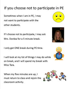 Health education activities for adults awesome social story for autistic pe students not participating Health Education, Physical Education, Special Education, Activities For Adults, Educational Activities, Adapted Pe, Pe Ideas, Senior Home Care, Autism Resources
