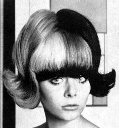 1965, two-tone bouffy flip