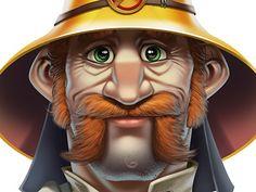 Fireman Character #fireman #cartoon
