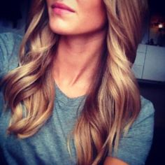 perfect dark blonde.