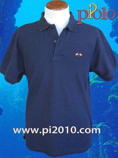 Polo marino con bordado de dos banderas de España con mástil, en pecho. 100% algodón. http://www.pi2010.com/index.php?route=product/category&path=59_61