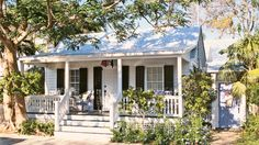 9. Key West Cottage | From polished and sophisticated to rustic and casual, you can find your very own coastal style from this collection of our favorite beach cottages.