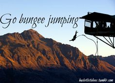 I've been indoor bungee jumping. Going REAL bungee jumping would be a blast Places To Travel, Places To See, Boyfriend Bucket Lists, Park Resorts, Bungee Jumping, Before I Die, Panama City Panama, Adventure Is Out There, Adventure Awaits