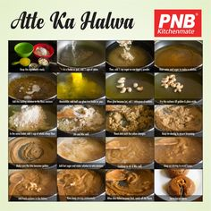 Atta ka Halwa is a deliciously sweet dessert which is specially made for the Festival - \