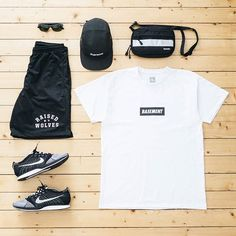 WEBSTA @ jaybeezishangintough - today's #outfitgrid#TheBasement force tee…