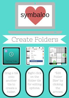 Thanks to Meghan Zigmond for this great post about SymbalooEDU new features! classroom, slpspeechi, school, educationtechi, stuff, datl, ipad, edtech, librari