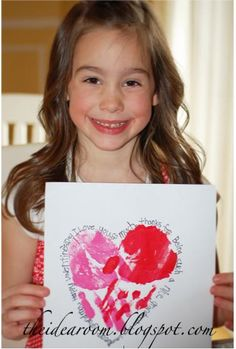 """Hand""made kid's Valentine"