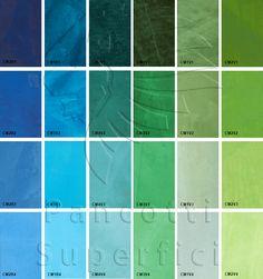 I colori del Mare | Pancotti Superfici Colori 2013
