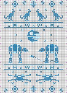 Star wars baby blanket knitting pattern made by Aliz Fair Isle Knitting Patterns, Knitting Charts, Crochet Blanket Patterns, Star Wars Crochet, Crochet Stars, Cross Stitch Embroidery, Cross Stitch Patterns, Star Wars Quilt, Beginner Crochet Projects
