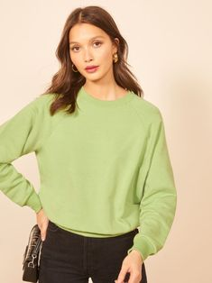 V Neck, Stylish, Sweatshirts, Classic, Casual, Sweaters, Pistachio, Outfits, Rio
