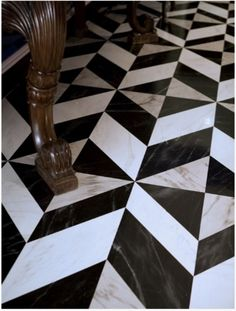 Inspirational Black White Marble Floor