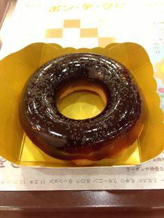 ミスタードーナツ ぷるるんポン・デ・リング 黒みつ