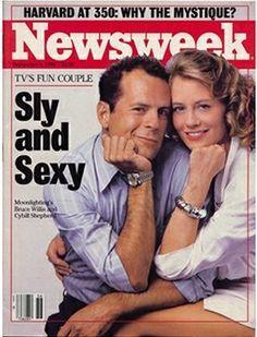 Moonlighting: September 8, 1986, on the cover of Newsweek.
