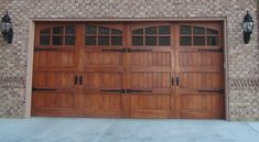 This type of garage door insulation is certainly an inspiring and very good idea Unique Garage Doors, White Garage Doors, Faux Wood Garage Door, Carriage House Garage Doors, Garage Door Styles, Carriage Doors, Garage Door Insulation, Sectional Garage Doors, Cheap Doors