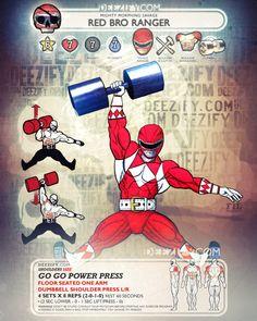 shoulder exercise: seated shoulder press - ranger