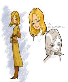 character design-Mamma by Daniela Vetro