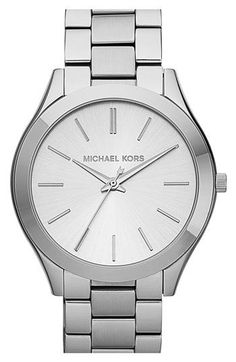 Michael Kors 'Slim Runway' Bracelet Watch | Nordstrom