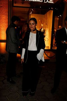 Olivia Palermo out in Barcelona - October 2016