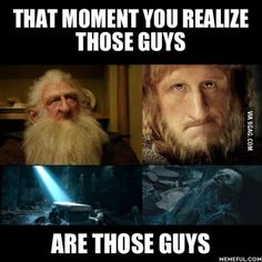 I cried when I read LotR for the first time because I liked them in the hobbit.