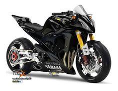 Yamaha personalizada R1 ou R6 #yamaha #supermoto #nave