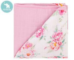 All4Ella Muslin Blanket - Floral Muslin Blankets, Australia Living, Tummy Time, Saint George, Baby Essentials, Beautiful Babies, Cosy, Cool Designs, Floral