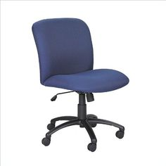 OSP Designs Office Chair - Pin it :-) Follow us :-)) AzOfficechairs.com is your Office chair Gallery ;) CLICK IMAGE TWICE for Pricing and Info :) SEE A LARGER SELECTION of  osp designs  office chair at http://azofficechairs.com/?s=osp+design+office+chair - office, office chair, home office chair -   Safco Uber Big and Tall Mid Back Task Chair in Blue « AZofficechairs.com