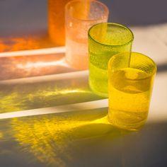 Bubble Glass Tumbler in Entertaining Drinkware at Terrain
