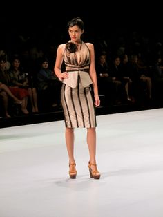 Rudy Chandra, Indonesia Fashion Week 2013 ... Couple more buttons on chest and there's my work outfit !!
