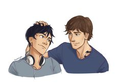 Cassandra Clare, taratjah:   I loved when Julian ruffled Ty's hair and Ty leaned into it like a cat. It was the cutest.