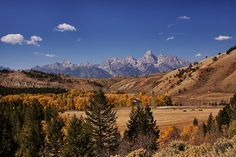 Fall in the Tetons by Bill Bell, via 500px