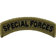 Multicam Army Special Forces Tab
