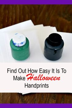 Find Out How Easy It Is To Make Halloween Handprints