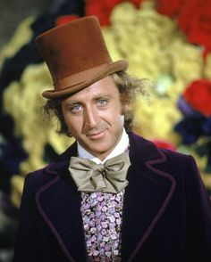 Gene Wilder as Willy Wonka in 'Willy Wonka & the Chocolate Factory.""