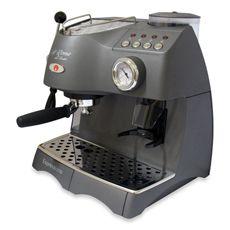 Espressione Cafe Roma Deluxe Espresso / Capuccino and Grinder Machine