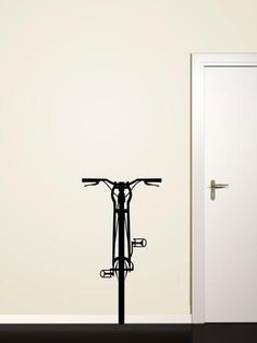 bike wall sticker